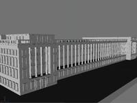 treasury building 3d model