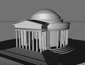 3d jefferson memorial