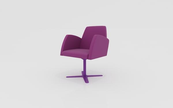 poltrona chair 3d max