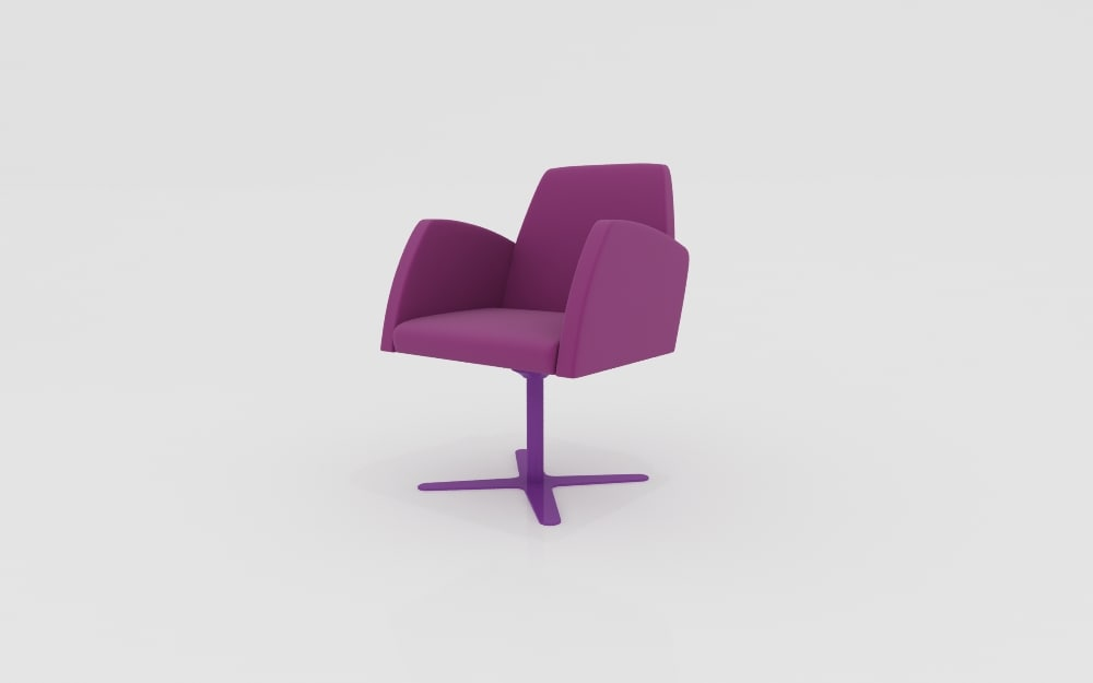 Poltrona chair 3d max for Poltrona 3d