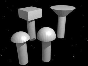 free rivets construction 3d model