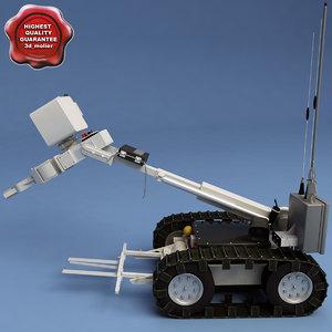 3d 3ds robot picker