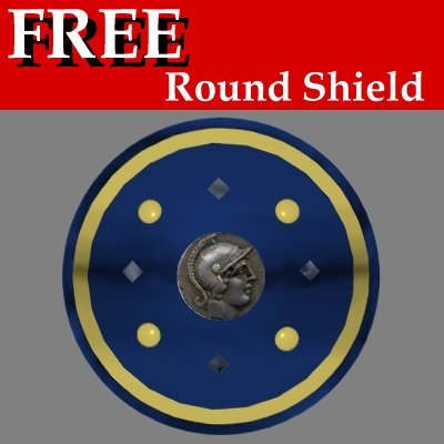 free shield 3d model