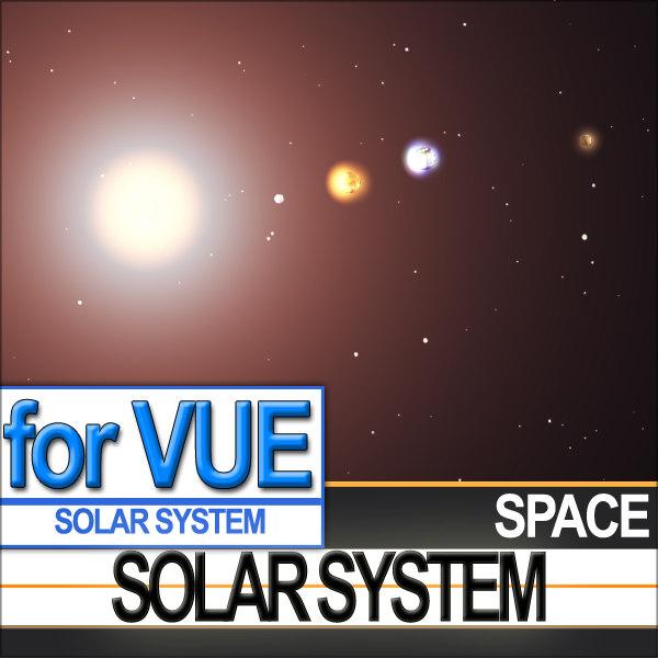 solar scientific photoreal photos vue