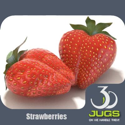 mr strawberry 3d max