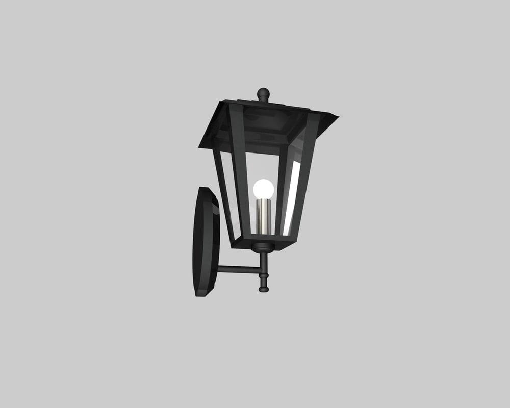 3d italian lamp model