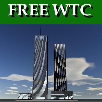 free world trade center 3d model