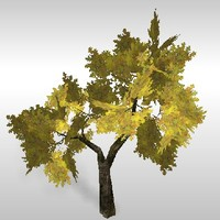 oak tree 3d 3ds