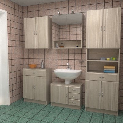 max bathroom textur