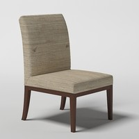 3d baker cheval chair
