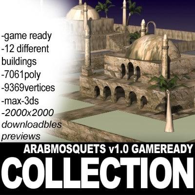 arabmosquets 01 gr mosquets 3d model