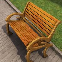 3dsmax bench c