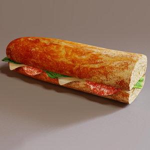 fbx half sandwich