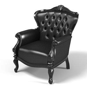 black designer classical 3d 3ds