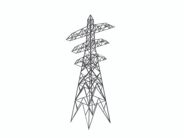 3d model pylon