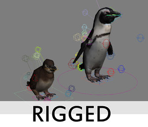 directx rigged penguins