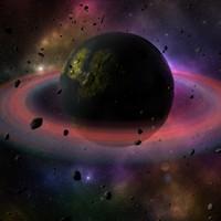 3dsmax space scene