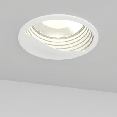 Wall Washing Recessed Lighting Distance : 3ds max recessed light wall washer