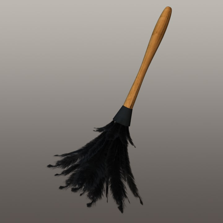 obj feather duster