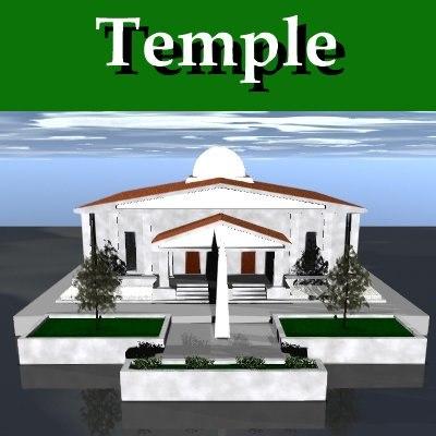 roman church 3d lwo