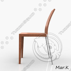 chair caruso 3d 3ds