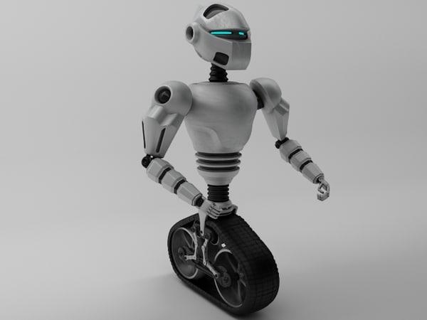 robot mot-300 3d max