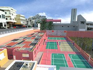 3d cityscape city