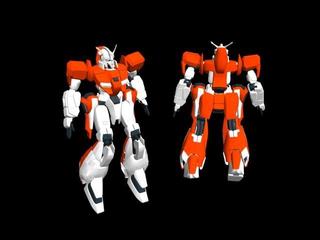 3d model zeta gundam