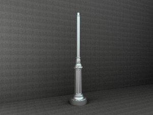antique street lamp 3d 3ds