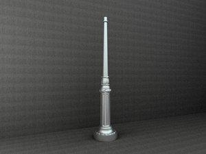 3ds max antique street lamp