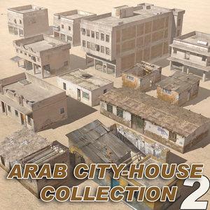 house arab 3d model