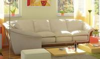 divan sofa 3ds