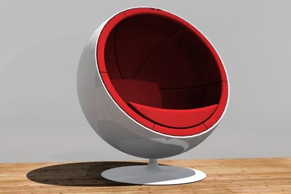 3dsmax ball chair