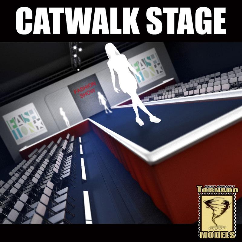 3dsmax catwalk stage