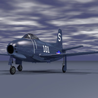 3d model fj1 jet fighter