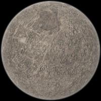 mercury planet 3d max