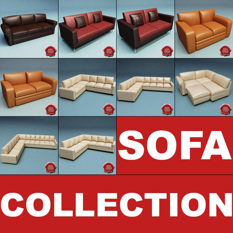 sofas v2 3d max