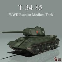 lightwave t34 soviet tank