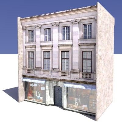 building shop 3d model