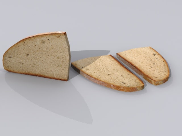 3d slice bread