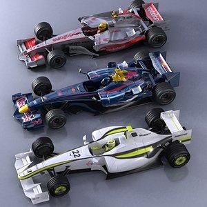 3d model of cars