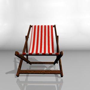 cinema4d deck chair