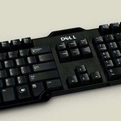 dell keyboard 3d model