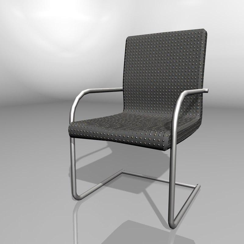 chair exhibition 3d model