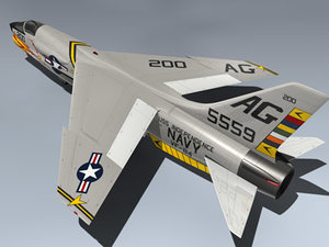 navy fighter 3d model