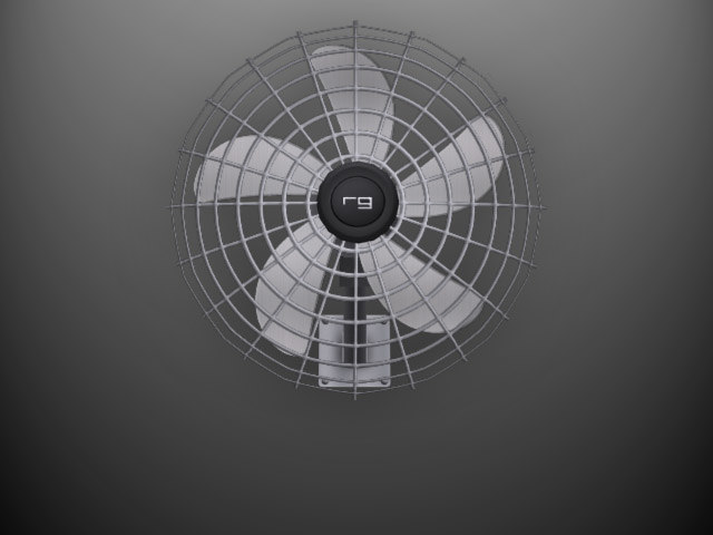 mounted fan max