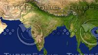 maps india 3d max