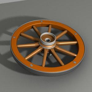 woden wheel max