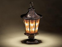 2009 lamp rdrenders 3d 3ds