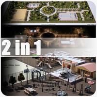 3d model park 1 2